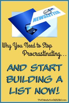 Stop Procrastinating and Start Building a List