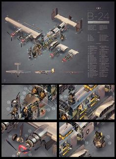 Exploded View Poster This limited edition array of prints from Lynx Art Collection is inspired by science and tech. Featuring everything from typography over portraits of famous inn Ww2 Aircraft, Military Aircraft, Fighter Aircraft, Exploded View, Technical Illustration, Air Festival, Airplane Art, Ww2 Planes, Aviation Art
