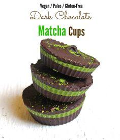 Chocolate Matcha Cups