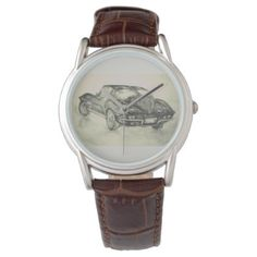 Corvette watch - classic gifts gift ideas diy custom unique
