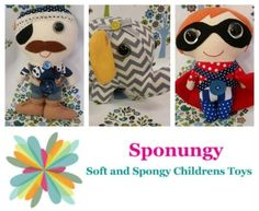 Maker C442 - Sponungy Soft and Spongy Children's Toys - http://www.highlandshandmade.com.au/maker-c442-sponungy-soft-and-spongy-childrens-toys/ - My name Kim Overall from Sponungy.  I am an Early Childhood Teacher/Director by day and Sponungy creator by night.  Sponungy is quirky, fun and imaginative.  The word Sponungy is a mix of soft and spongy and was invented on a drive to Moss Vale by myself and my husband while we were trying to describe my toys.  I enjoy all k