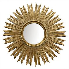 Sunburst On The Scene Mirror