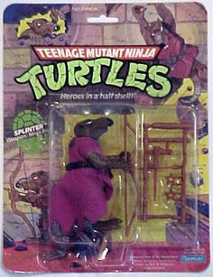 Teenage Mutant Ninja Turtles Action Figures: Splinter