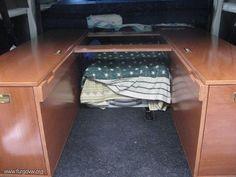Mueble cama para la furgo