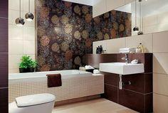 Łazienka: mozaika i płytki