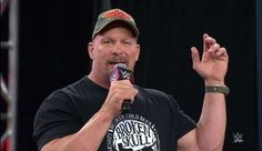 """WWE Hall Of Famer """"Stone Cold"""" Steve Austin was not backstage at last Monday night's episode of WWE RAW at the Staples Center in Los Angeles, California, he made sur…"""