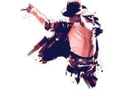 The king of pop // Michael Jackson // Abstract design - artwork