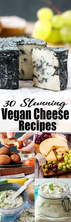 If you're looking for vegan cheese recipes, you will LOVE this vegan cheese roundup! Ditch the dairy and try some of these non-dairy cheese recipes! Find more delicious vegan recipes at veganheaven.org!