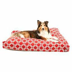 Links Pet Bed in Red