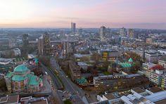 Essener Innenstadt am Morgen des 11. Januar 2013 von Stadtfotograf
