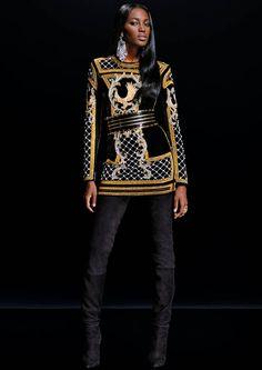 Balmain x H&M : l'intégralité des images de la collection Balmain x H&M - Elle