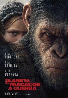"""O terceiro capítulo do aclamado blockbuster """"Planeta dos Macacos""""."""