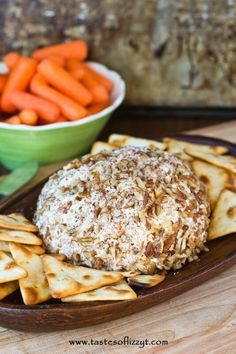 This savory Pineapple Pecan Cheese Ball was a new recipe to our family, but won't be going away anytimesoon. Serve with crackers for a simple appetizer.