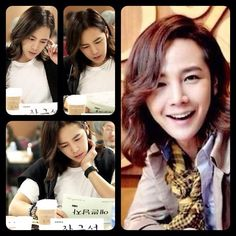 I'm not the only one who's in love with that hair, rite ;)? #JKS #Yebbeunnamja #kdrama Pic cr: The Eels Family Fb ~ Weibo