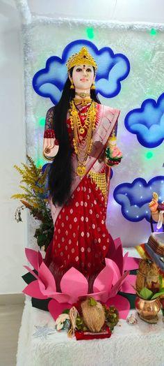 Gauri Decoration, Painting, Art, Art Background, Painting Art, Kunst, Paintings, Performing Arts, Painted Canvas
