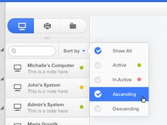 Dashboard UI Design: Help-Desk Management System - WIP by Vimal