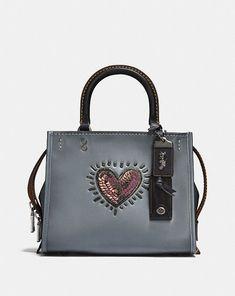 Coach Coach X Keith Haring Rogue 25 Coach Leather Handbags 5da4c93ab4943