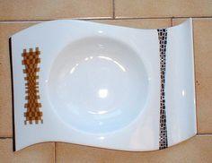 Bottega #Costantini, oggi. Centrotavola in #ceramica. Bottega Costantini, today, #ceramic #centerpiece