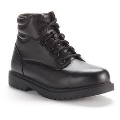 Grabbers Kilo Men's Steel-Toe Work Boots, Size: medium (7), Black