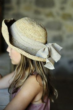~ pretty summer hat