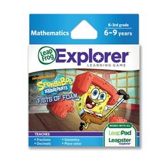 LeapFrog SpongeBob SquarePants Fists of Foam Learning Game (works with LeapPad Tablets & LeapsterGS) LeapFrog,http://www.amazon.com/dp/B0038AJIMK/ref=cm_sw_r_pi_dp_zcr4sb0PACAQRS6M