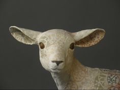beautiful work by Glasgow based ceramicist Susan O'Byrne Pottery Animals, Ceramic Animals, Clay Animals, Pottery Sculpture, Pottery Art, Sculpture Art, Pottery Ideas, Ceramic Monsters, Sheep Art