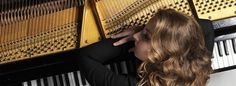 Lise de la Salle Piano Man, Lisa, Long Hair Styles, Beauty, Musica, Room, Long Hairstyle, Long Haircuts, Long Hair Cuts