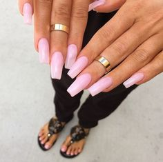 Have you found your nails lack of some fashionable nail art? Sure, recently, many girls personalize Pink Nails, My Nails, How To Do Nails, Hair And Nails, Light Pink Acrylic Nails, Dope Nails, Nails On Fleek, Gorgeous Nails, Pretty Nails