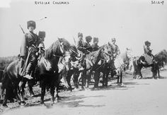 """Cossacks ~ The first opponents of Lenin's regime to take up arms were the Cossacks in the south of Russia. While their will to fight the Bolsheviks was great, they had a fatal weakness, as Landauer explains: """"Although the Cossacks were dangerous enemies because of their highly developed military qualities, in political matters their scope was utterly limited. They had no common goal except the defense of their property and they failed to understand that the success of this defense depended…"""