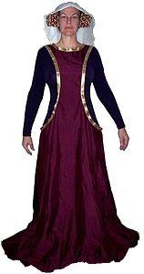 Rosalie's Medieval Woman - Sideless Surcote Tutorial