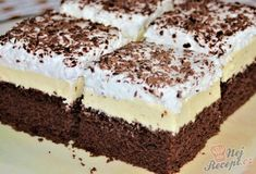Czech Recipes, Ethnic Recipes, Healthy Menu, Yummy Mummy, Aesthetic Food, Chocolate Cake, Tiramisu, Cheesecake, Food And Drink