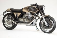 """Moto Guzzi Cafe Racer """"Ritmo Veloce"""" by Officine Rossopuro #motorcycles #caferacer #motos 