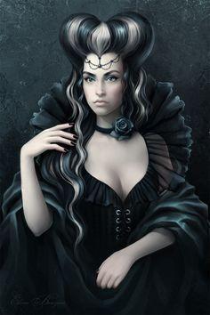 Queen of Spades by sharandula on deviantART