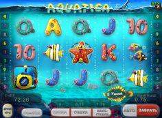 Spielen Sie Online-Spiel Aquatica-Leistungs-Verhältnis. On-line Slot Aquatica entworfen von der bekannten Firma GloboTech. Sein Thema ist die Unterwasserwelt und ihrer Bewohner, wie in der Dolphin gewidmet. Hersteller Aquatica Spielmaschine bietet Spielern tauchen Sie ein in die Tiefen des Meeres, um nach dem Schatz zu suchen. Hier kannst du sie fair