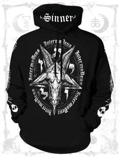 Spiral Direct ASSASSIN Hooded Sweatshirt,Guns//Reaper//Skull//Gothic//Hood//Pullover