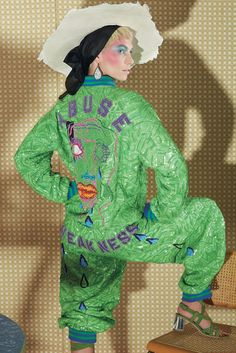 Brink of Hysteria - Bjarne Melgaard Fashion  wow great work....full hand embroidery. .....love this sweat set