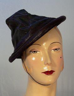 Parmillo hats Paris and NY 1950s