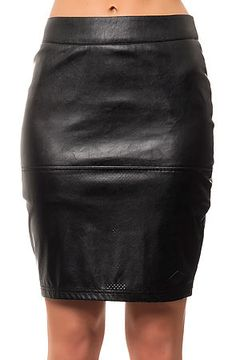 The Scorch Skirt in Black