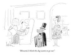 Animal Cartoons Prints at the Condé Nast Collection