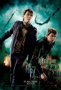 And fought as a team in the fight against evil. | 28 Reasons Fred And George Are The Best Characters In The Harry Potter Series
