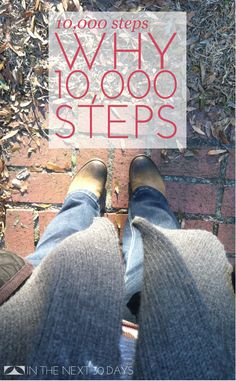 I'm sure you've heard the advice to take 10,000 steps a day. It's recommended for health, weight loss and management, and just all around good for you. But once I committed to this challenge, I kind of started to wonder why 10,000? I mean, where did that number come from? Why so many? Why not …