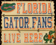 We have this sign on our front door. GO Gators! Florida Gators Football, Florida Athletics, Gator Football, Gator Game, Football Is Life, Football Season, Front Door Signs, University Of Florida, Precious Gift