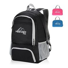 Veevanpro Foldable Waterproof Hiking Daypack (Black) This is ranked high among the popular selling items in Luggage category in Canada. Click below to see its Availability and Price in YOUR country. Best Handbags, Fashion Handbags, Ladies Handbags, North Face Backpack, Black Backpack, Excess Baggage, Hiking Tips, Cool Backpacks, Cute Sweaters