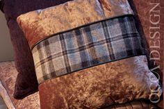 Hotel Interior Design, The Landmark Hotel, Dundee, Reception Interior, Scottish Interior Design, Tartan Cushions, Soft Furnishings, BDL Hotels