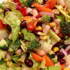 Barbecue Chopped Vegan Salad