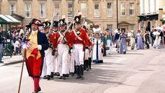 Jane Austen festival in Bath - held every year