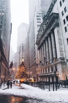 Christmas in the city