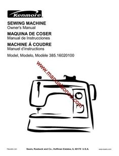 Singer 935 Sewing Machine Instruction Manual. Here are