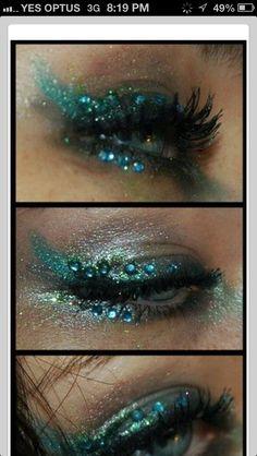 beautiful mermaid makeup  accessories  mermaid makeup