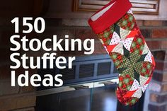 150 stocking stuffer ideas for kids, teens and adults. Something for everyone on your  list. (via The Mom Creative)